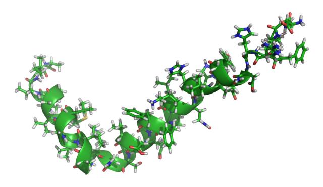 β-amyloid | Image: Ayacop, CC0