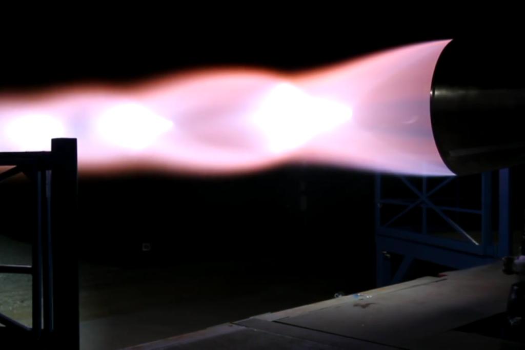 mmmm... shock diamonds | Image: SpaceX