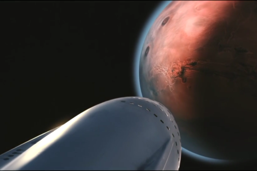 MCT on arrival at Big Red | Image: SpaceX
