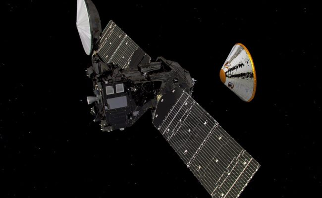 The ESA/Roscosmos TGO and Schiaparelli EDM | Image: ESA/ATG medialab