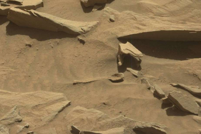 Not a spoon on Mars | Photo: NASA
