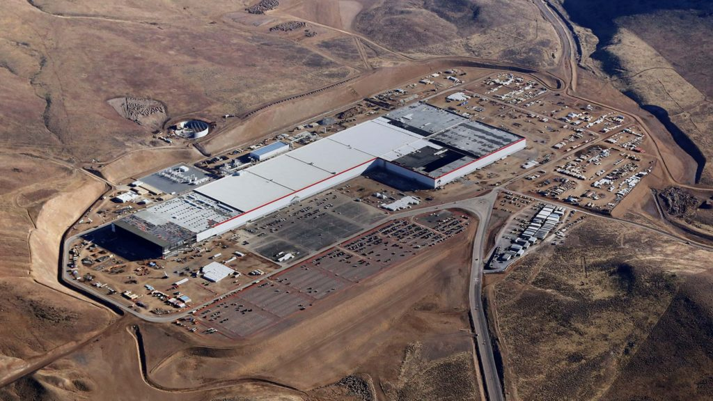 There's already enough completed gigafactory modules to produce the batteries for the PowerWalls, with more to come | Photo: Tesla